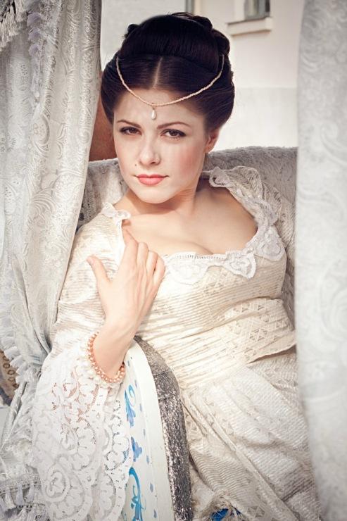 Прически 18 век фото женские