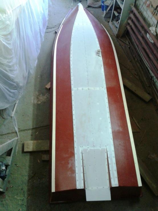Лодка туннель своими руками