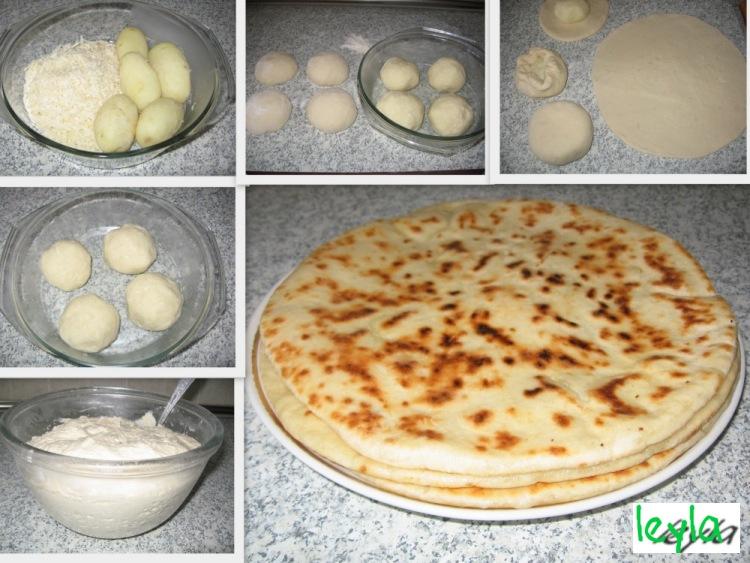 Хычины с сыром пошаговый рецепт с фото