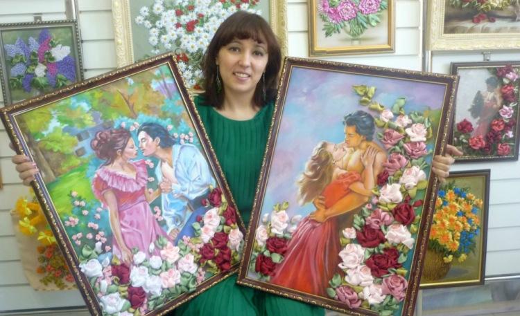 Галерея художественных работ по вышивке