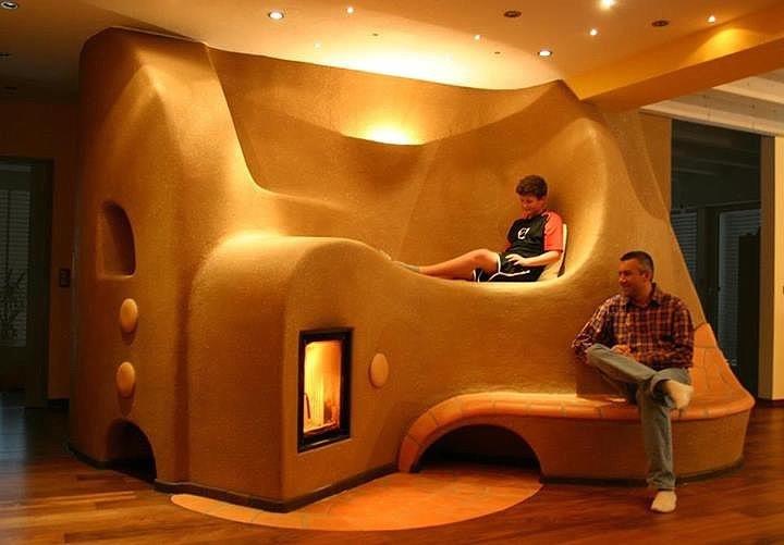 Фото дизайн печей в дом
