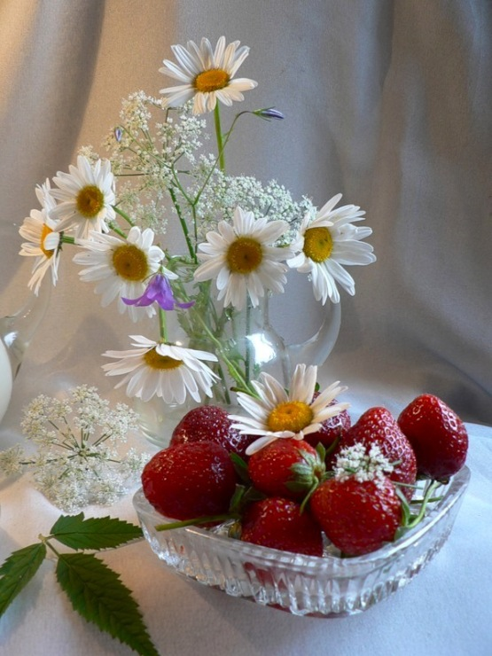 Фото доброе утро букет полевых цветов