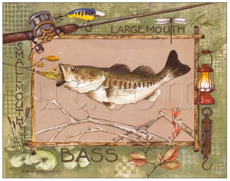 декупаж охота рыбалка