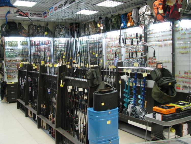магазины рыболов в архангельск