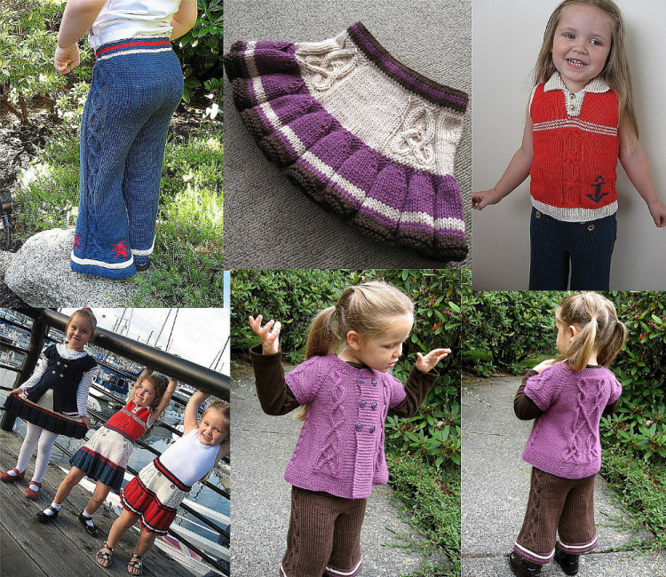 Вязание на осинке девочками 65