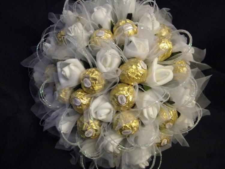 Букет из конфет своими руками для свадьбы