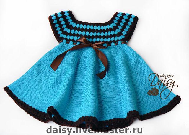 Связать своими руками детское платье