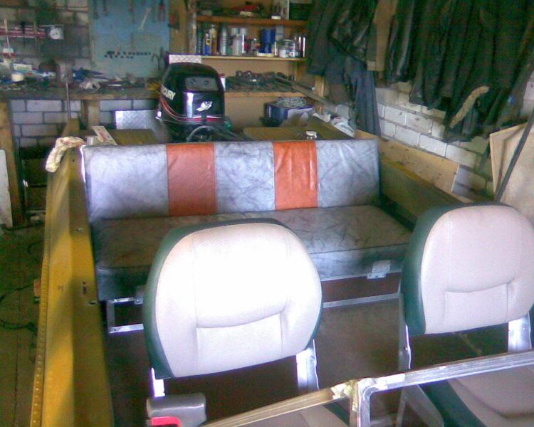 Тюнинг лодки крым своими руками видео