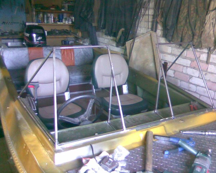 Тюнинг лодок крым своими руками с