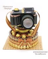 Фотоаппарат из конфет пошаговое 158