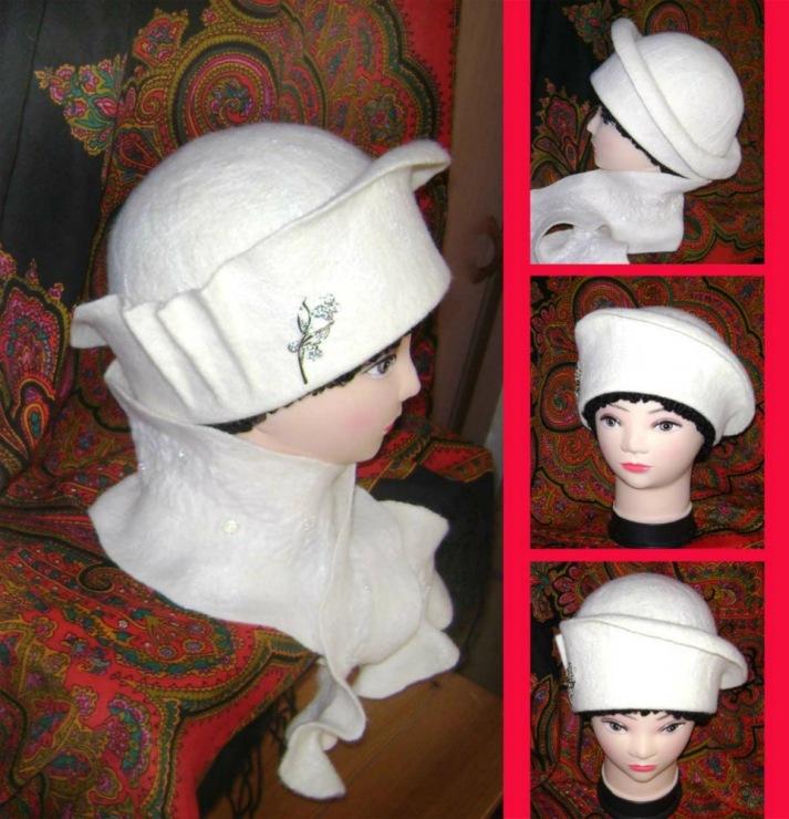 Сделать зимнею шапочку своими руками 45