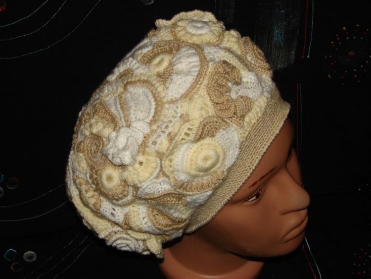 Мастер класс по вязания шапок и беретов