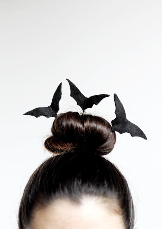 Макияж летучая мышь на хэллоуин своими руками
