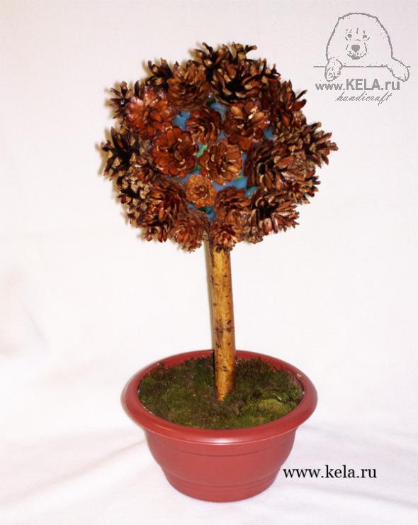 Природное дерево своими руками
