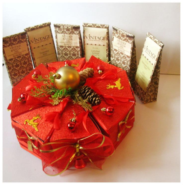 Подарок букет из чая своими руками