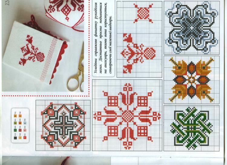 Схемы для вышивки славянских оберегов 89