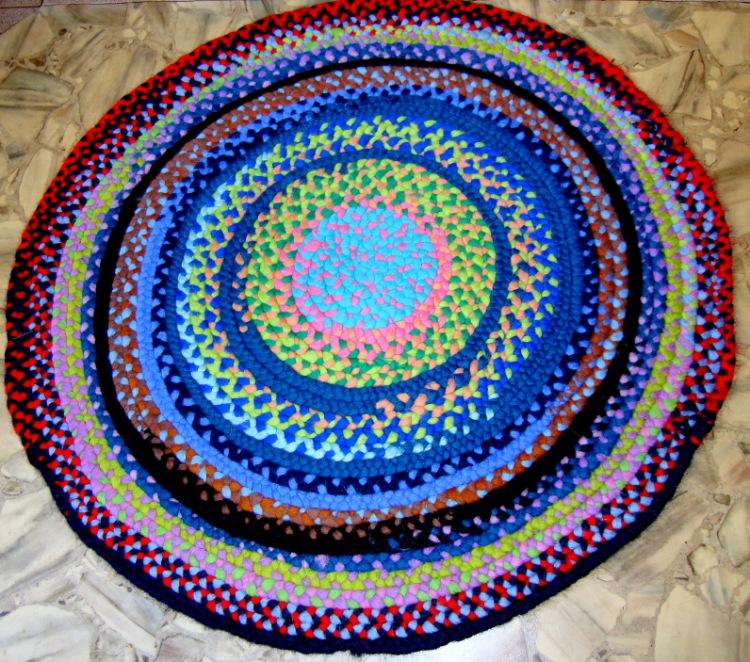 Коврики и вязание ковриков из тряпок