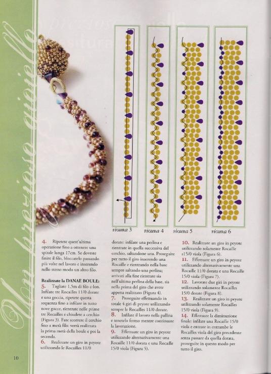 Мк по вязанию жгутов из бисера крючком и схемы для жгутов