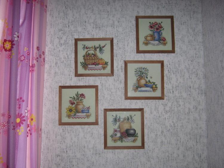 Вышивка в интерьере квартиры фото 96