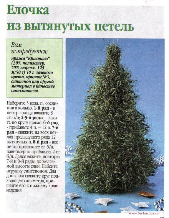 Новогодние елки  с описанием
