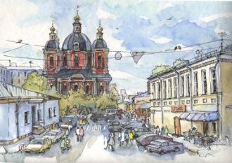 Художник Лидия Лекс-Семенихина - Москва